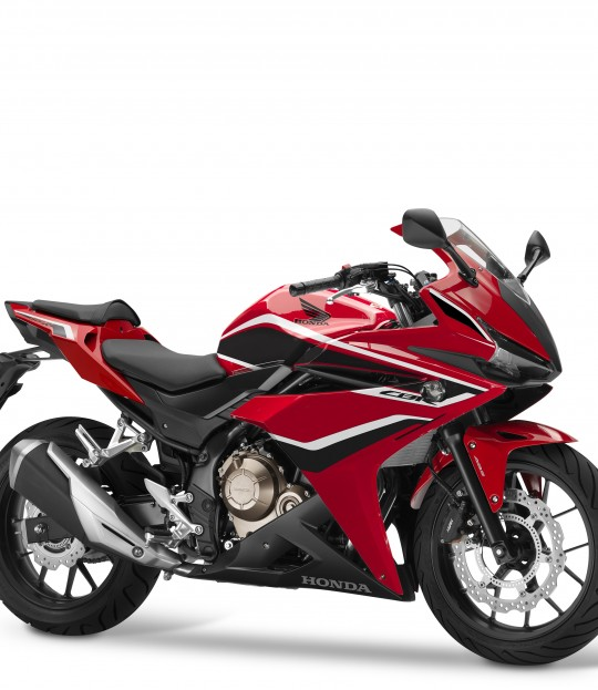 2018 CBR500R Grand Prix Red, Black Stripe (1)
